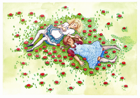 You, me and the summer fields. (Alice and Dorothy) by SANxR