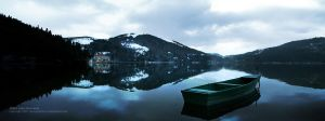 Abant Lake Panorama by alperyesiltas