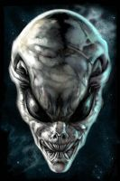 The Grey Alien by Abi909