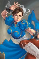 Chun Li by WickedWorksStudio