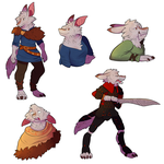 Selka Pose Page by StormWhiskers