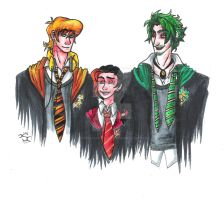 the Hogwarts students by Shaonhaerin5Hobbit