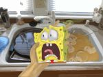 Scared Spongebob Art by ARTryan