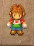 Jill,Pony - Harvest Moon - Bead Sprite by flamemandala