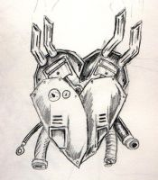 Mecha Heart 2 by J-W-White