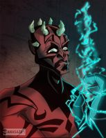 Darth Maul by KileyBeecher