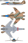 ASF-X Shinden II Israeli Air Force by bagera3005