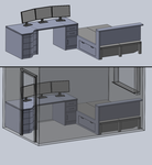 New Desk/Room WIP1 by steveee