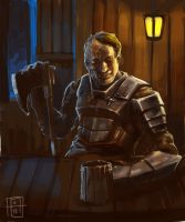 Tavern Thug by SirIce