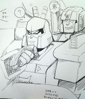 Starscream and Megatron 2 by piyo119
