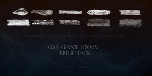 Gas Giant Storm Brush Pack by Alpha-Element