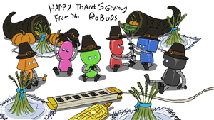 Thanksgiving Robuds by ScottaHemi