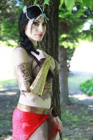 Cosplay Farah from Prince of Persia by ArwenLothlorien