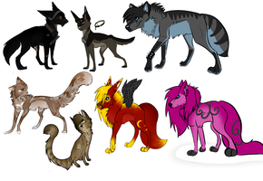 Old OC adopts by Z-A-D-Y