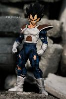 wild style Vegeta Figure by jeffbedash325