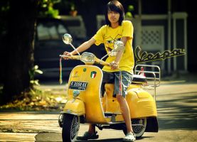 Me and my Vespa by vstary