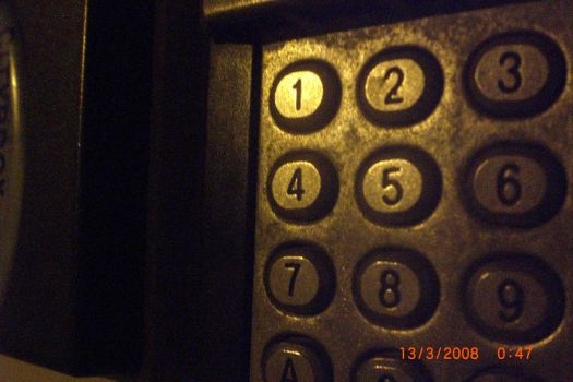Doorlock at night by freakingwildchild