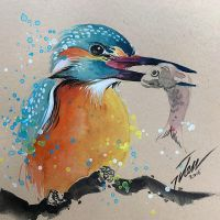 Kingfisher no.4 by tilenti