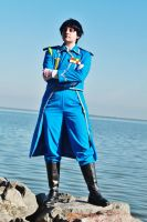 Kell-chan as Roy Mustang by BaconFlavoredCosplay