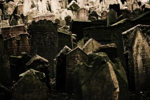 Jewish Cemetery Prague by bast-86