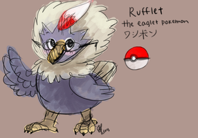 Doodledex: Rufflet by Fluffymon