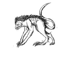Monster concept art by ForTheLoveOfWalrus