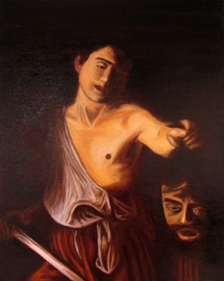 David with the Head of Goliath by molrak