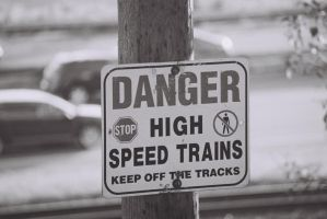 Danger, High Speed Trains-Yeah, Right! by Neville6000