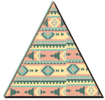 Triangulo Hipster png. by geneeditions