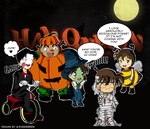 Detective Conan Halloween by chiQs09