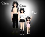 MMD Goldenhearts Siblings.XD by NightWitch14