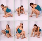 Crouching References 2 by Tasastock