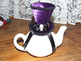 Purple Mini Mad Hatter Top-Hat by MotherLickerr