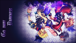 Kingdom Hearts PSP Wallpaper by xXNaXikuXx