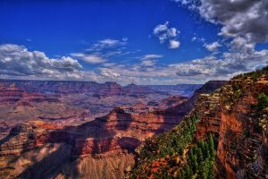 View of the Grand Canyon by ernieleo