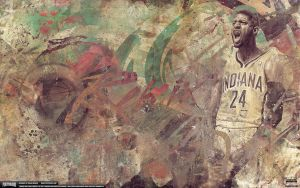 Paul George Remix Wallpaper by Angelmaker666