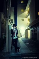 Ao No Exorcist: night stroll by Akusesu