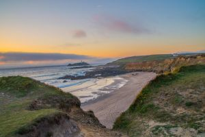 Sunset over Cornwall by Kaz-D