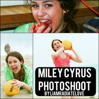 Miley Cyrus Photoshoot. 005 by LiamRadiateLove