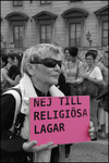No to Religious Laws by Nixxtor