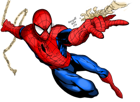 The Amazing Spiderman 2013 by RevafallArts