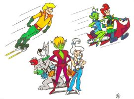 Teen Jetsons Cast by zombiegoon
