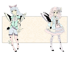 Light Fairy Maids Auction [CLOSED] by MoelleuxAdopts
