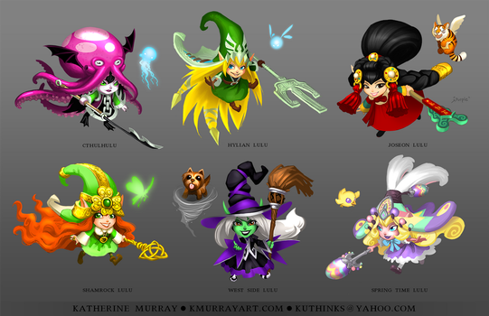 Lulu Skin Concepts by Kuthinks