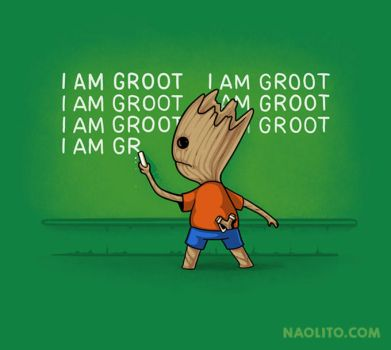 Groot's Detention by Naolito
