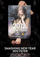 Smashing New Year 2012 Flyer Template PSD by G-SEVEN
