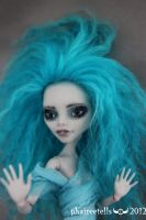 EVERLY MH repaint custom GHOULIA portrait by phairee004