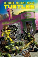 TMNT at AstroZombies by pziomek