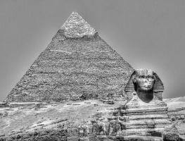 Pyramids of Giza by ruthsantcortis