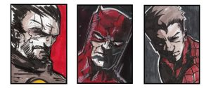 Sketch Card Samples by CartoonCaveman